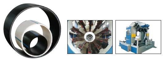 大口径HDPE供水管燃气管挤出生产线