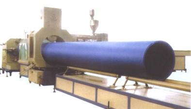 大口径中空缠绕管生产线
